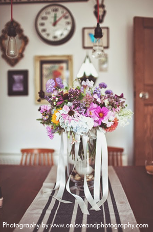 Watch the Flowers Grow Table Decoration 4